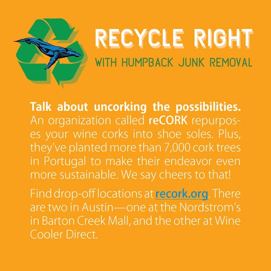 Recycle right with humpback junk removal