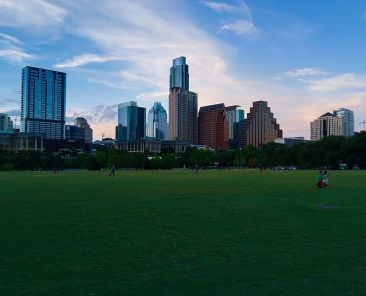 View of Austin skyline.