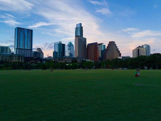 View of Austin skyline.